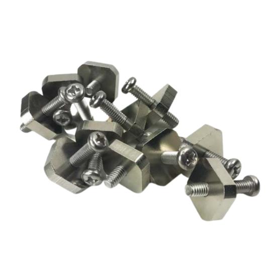 Vis inox M4 x 20 - Tête Cruciforme Carré - Koalition project