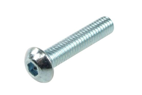 5001 - 5002 inox screw M4 x 20 - Tte Hexagonale